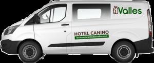 transporte residencia canina valladolid